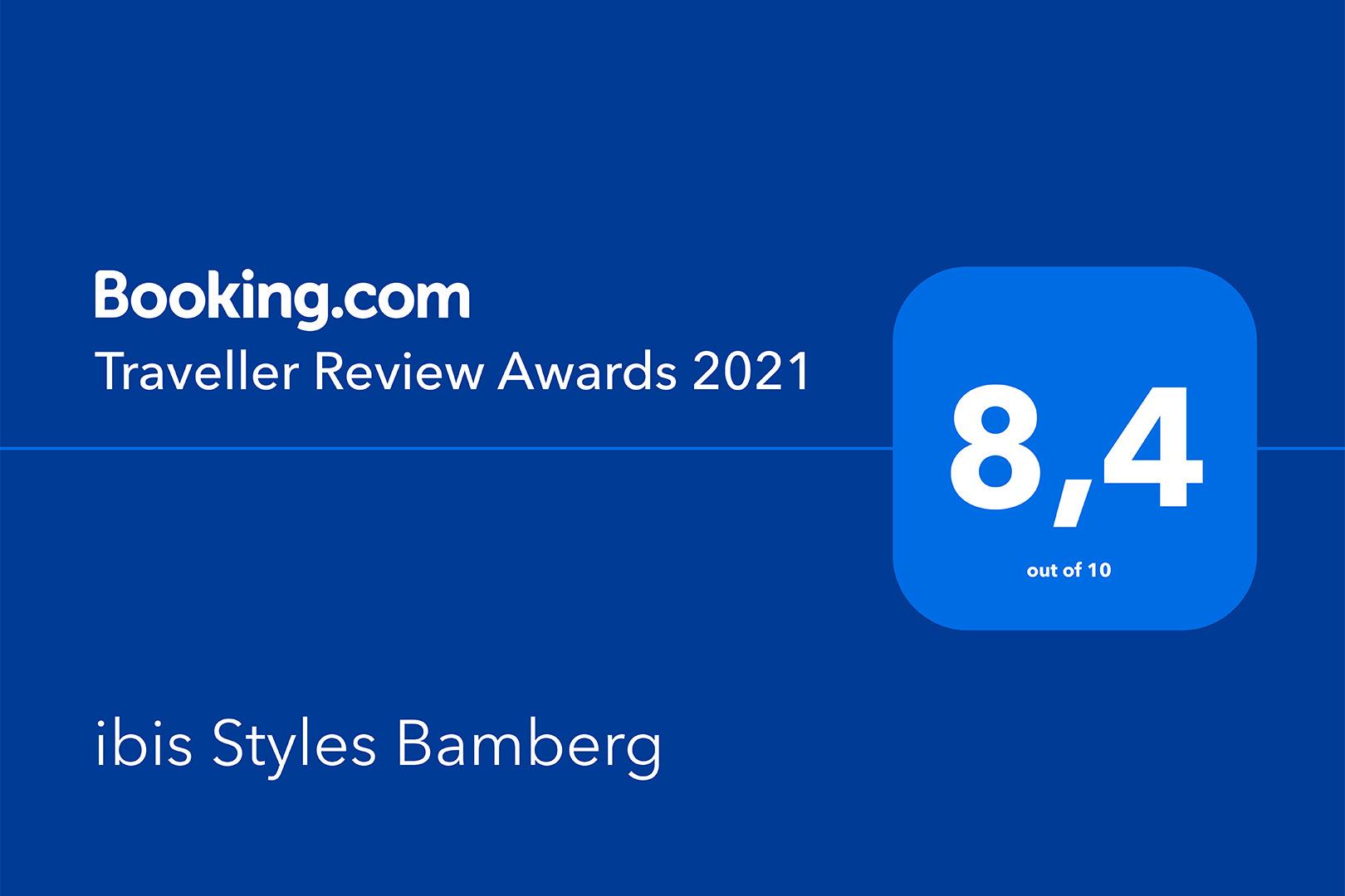 ibis Styles Bamberg - Traveller Review Award 2021