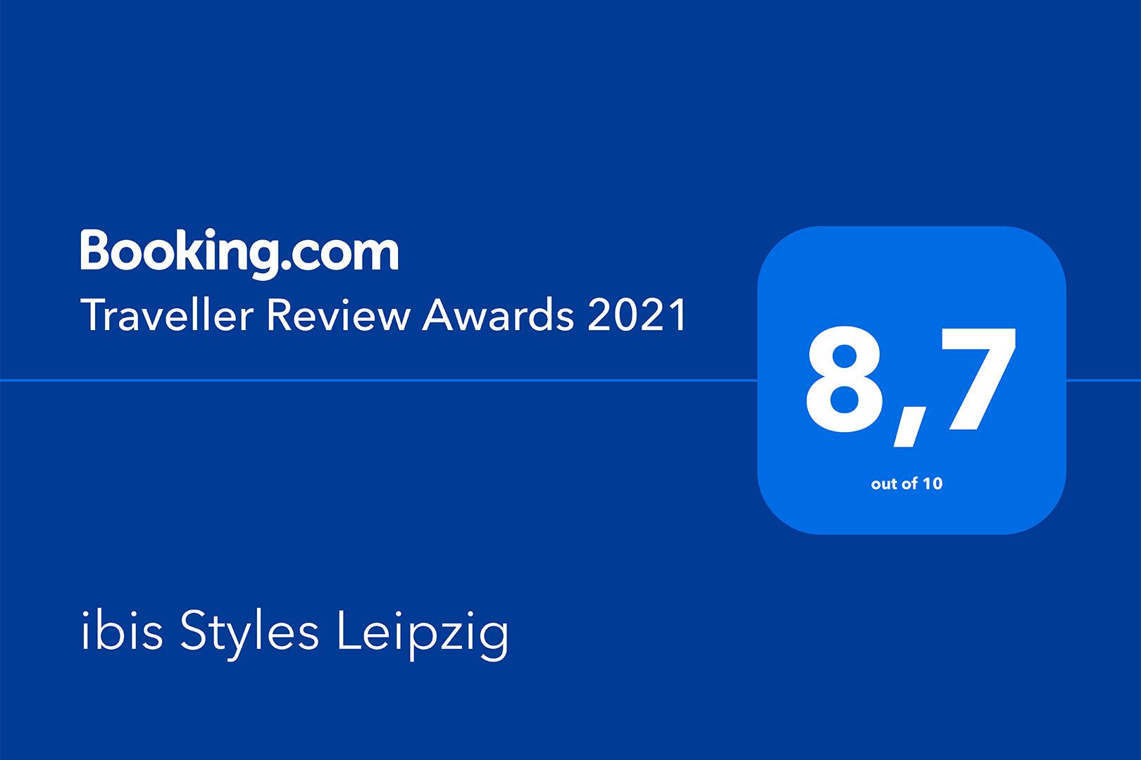 ibis Styles Leipzig - Traveller Review Award 2021