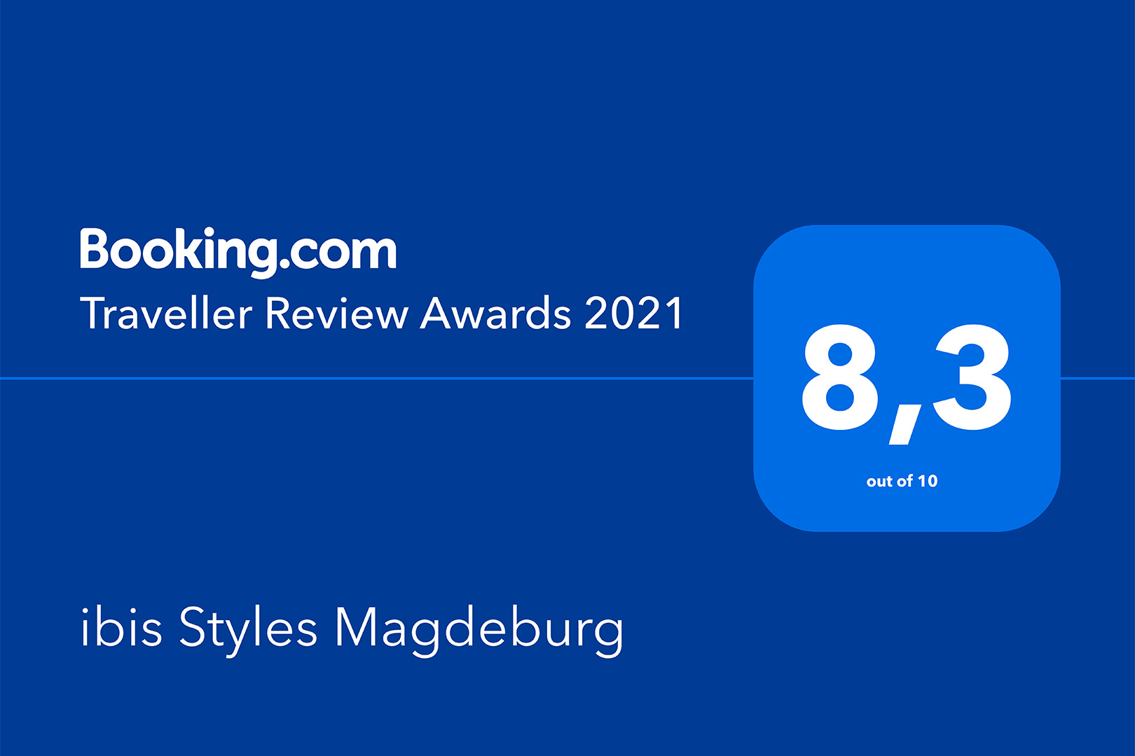 ibis Styles Magdeburg - Traveller Review Award 2021