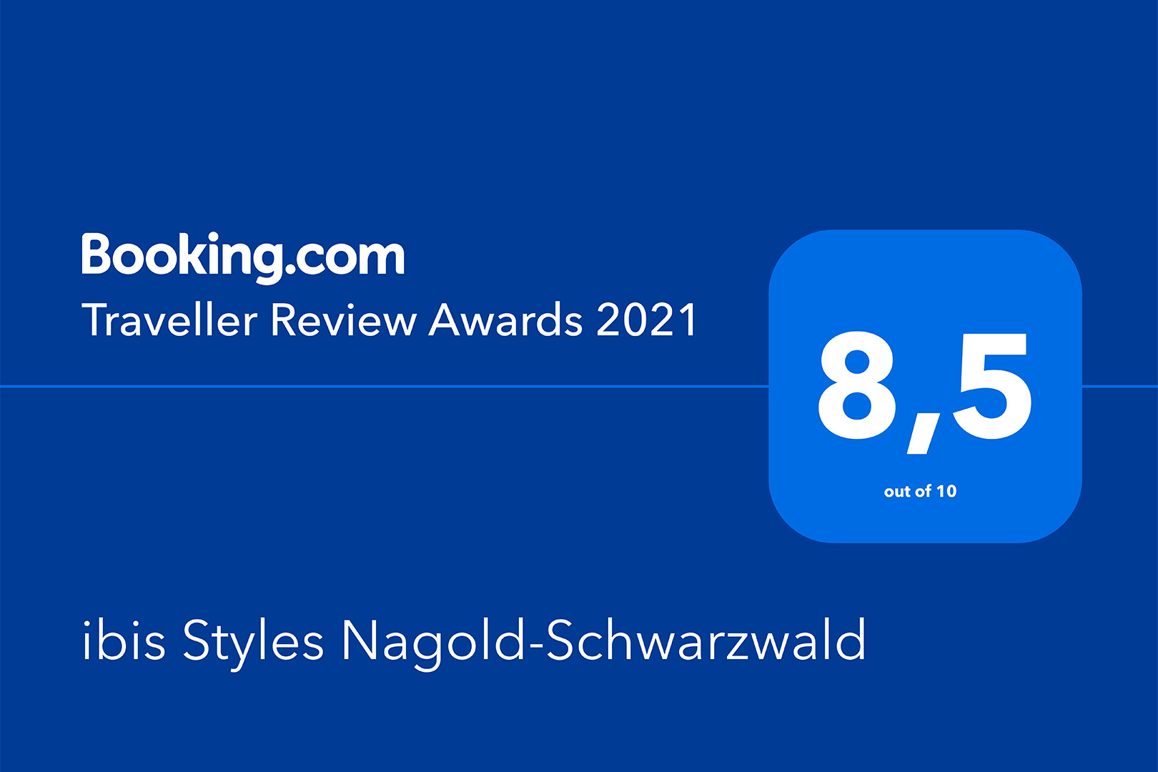 ibis Styles Nagold-Schwarzwald - Traveller Review Award 2021