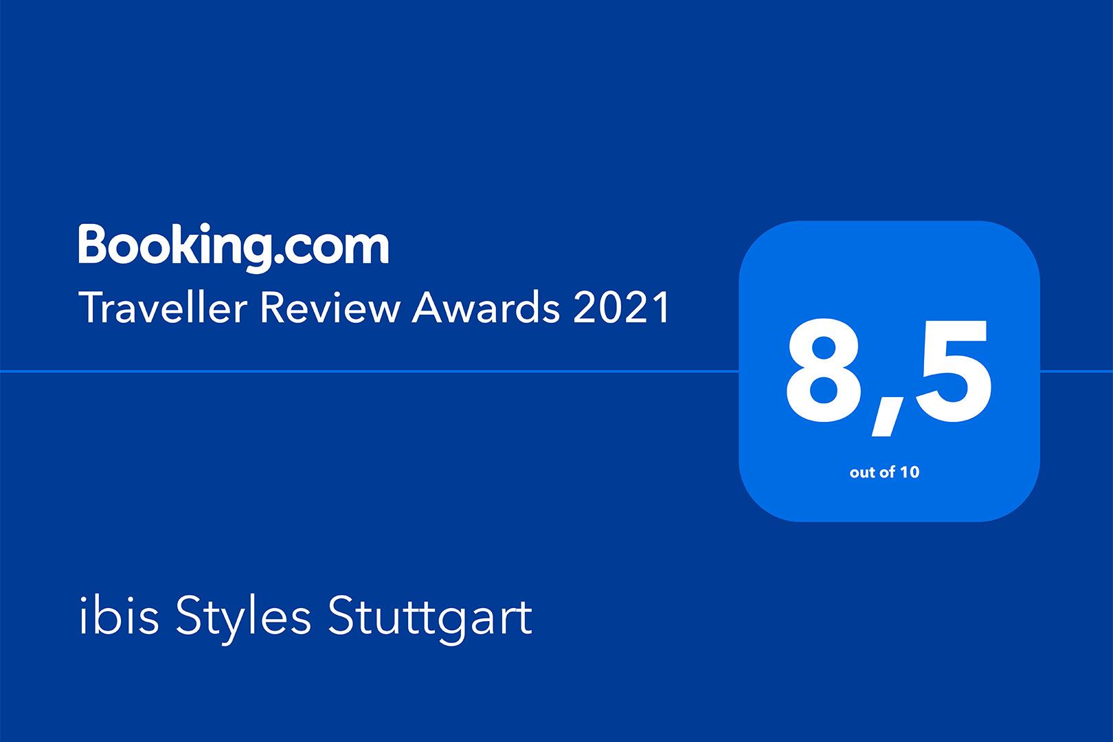 ibis Styles Stuttgart - Traveller Review Award 2021