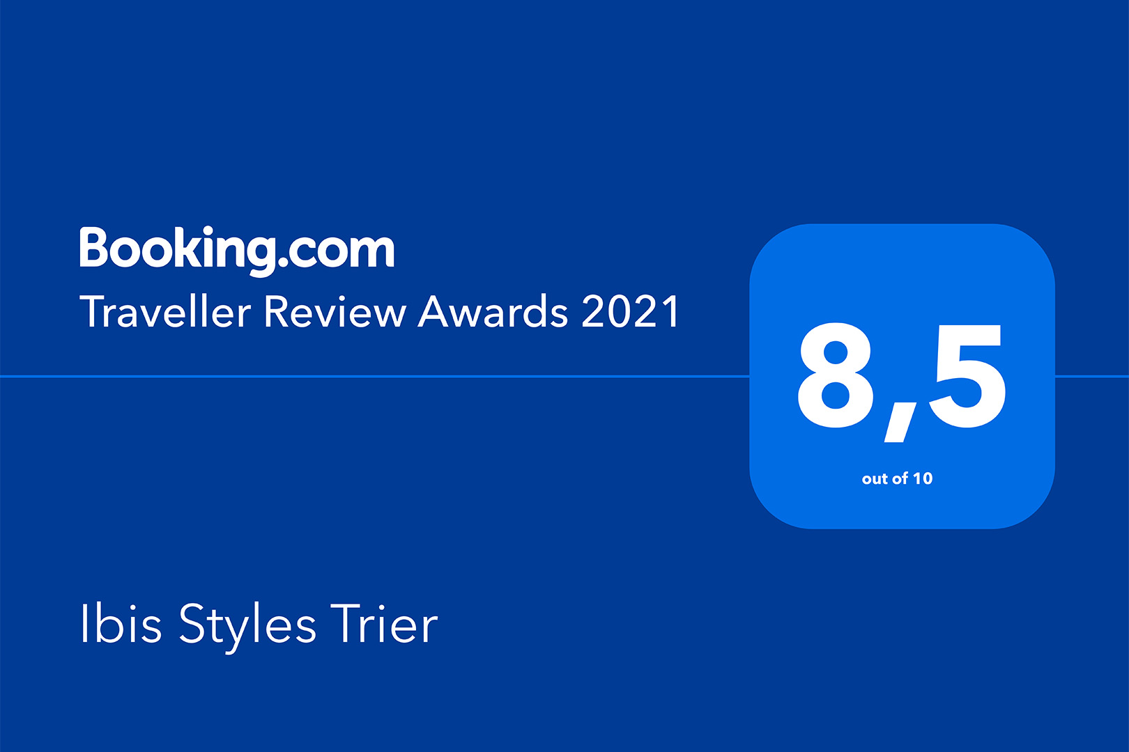 ibis Styles Trier - Traveller Review Award 2021